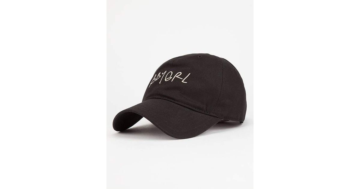 on sale 47ebe 43f79 ... discount lyst young reckless bbygrl dad hat in black for men 09abd 0e3fb