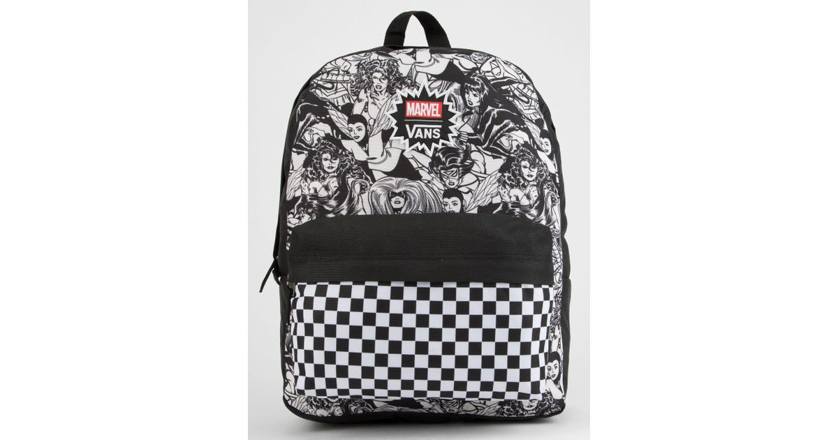 ff131051c08273 Lyst - Vans X Marvel Marvel Women Realm Backpack in Black