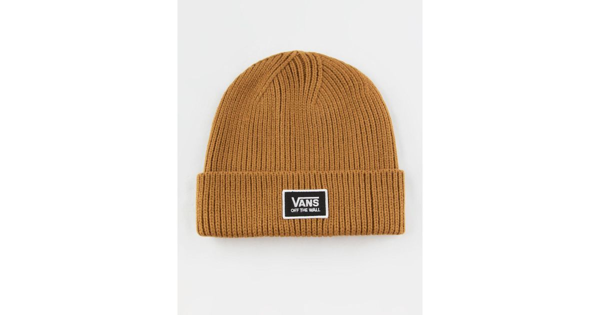 30d505bd8de Lyst - Vans Falcon Womens Beanie in Brown