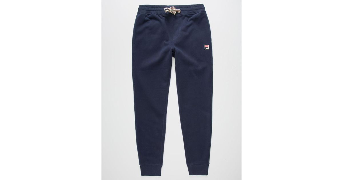 89cc11c08388 Lyst - Fila Visconti Mens Sweatpants in Blue for Men