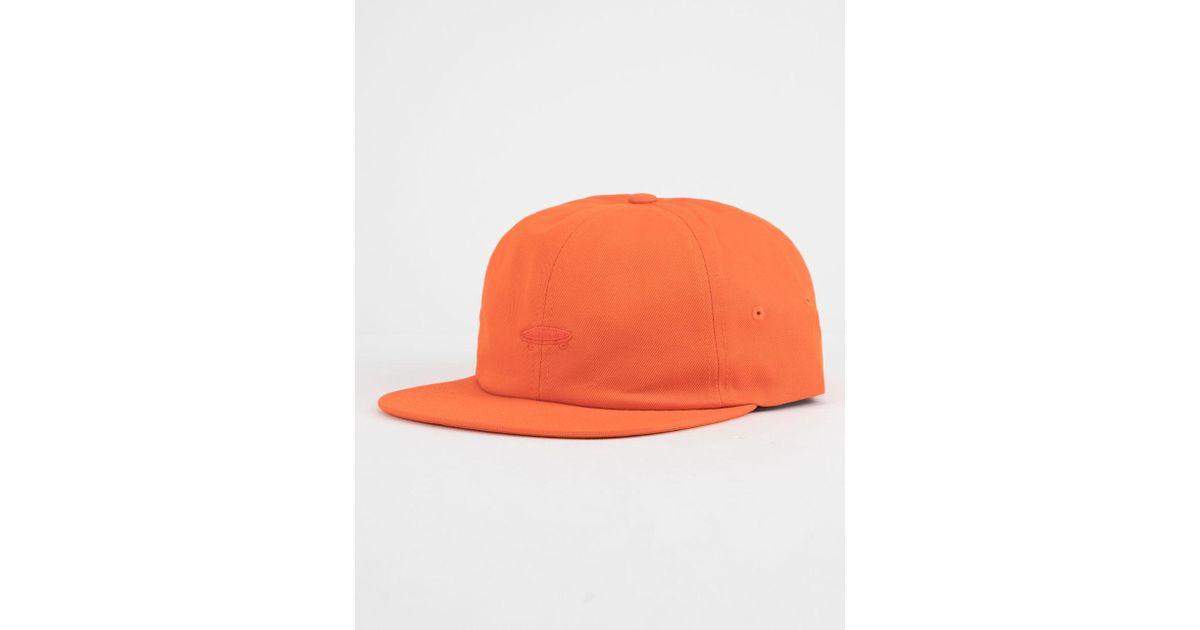 Lyst - Vans Salton Ii (flame) Caps in Orange for Men - Save 75% 4b61f7c9c37