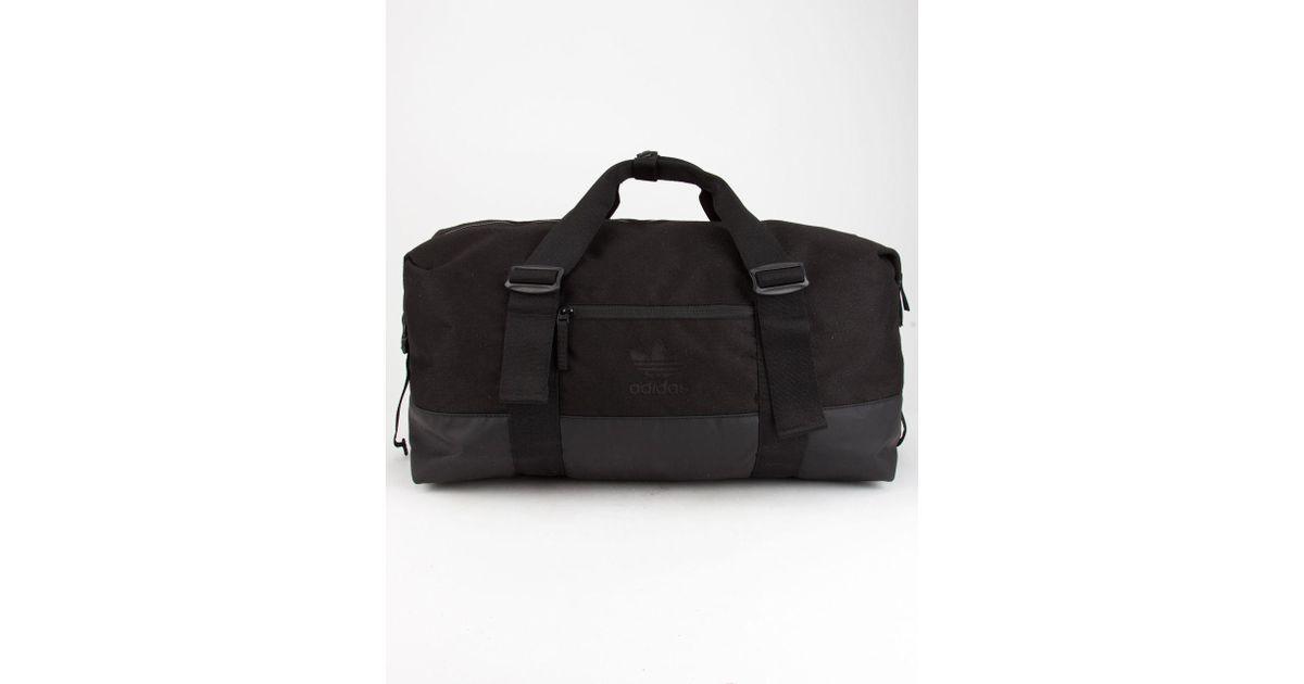 9771416c1a Lyst - adidas Originals Weekender Duffel Bag in Black for Men