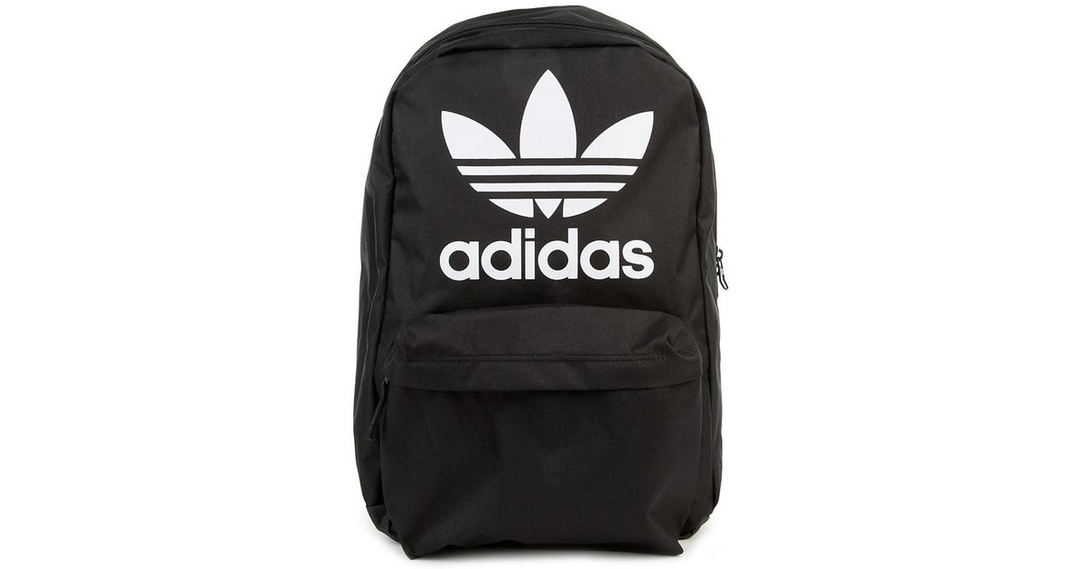 Lyst - adidas The Org Big Logo Backpack in Black for Men c6eefc9c25fce