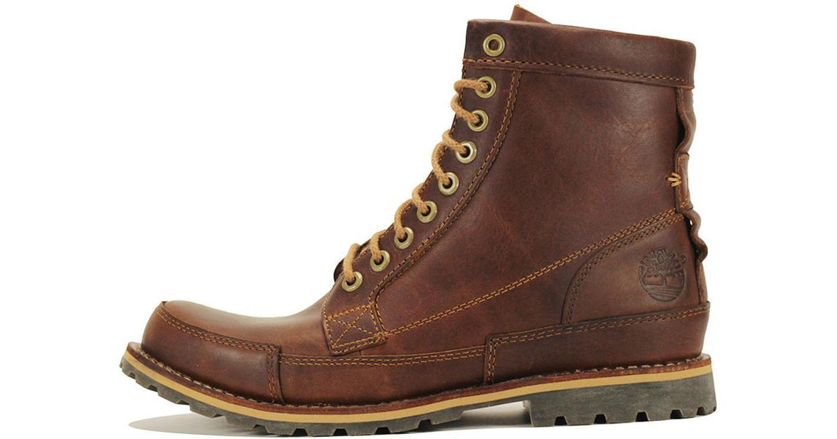 4a9532118394 Lyst - Timberland Earthkeepers Original Leather 6-inch Brown Boot in Brown  for Men