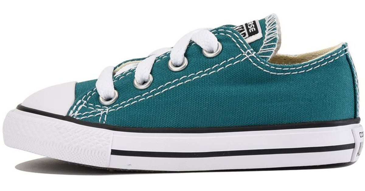 5aba62f3b17f Lyst - Converse For Infants  Chuck Taylor All Star Ox Rebel Teal Sneaker in  Blue for Men