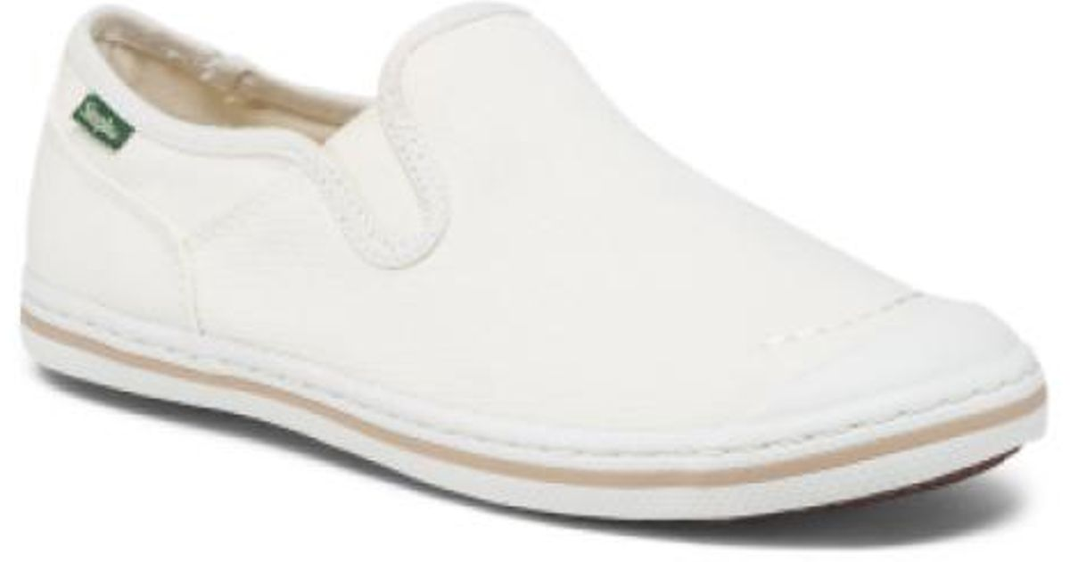 9bc7eeae576 Tj Maxx - White Twin Gore Slip On Shoes for Men - Lyst