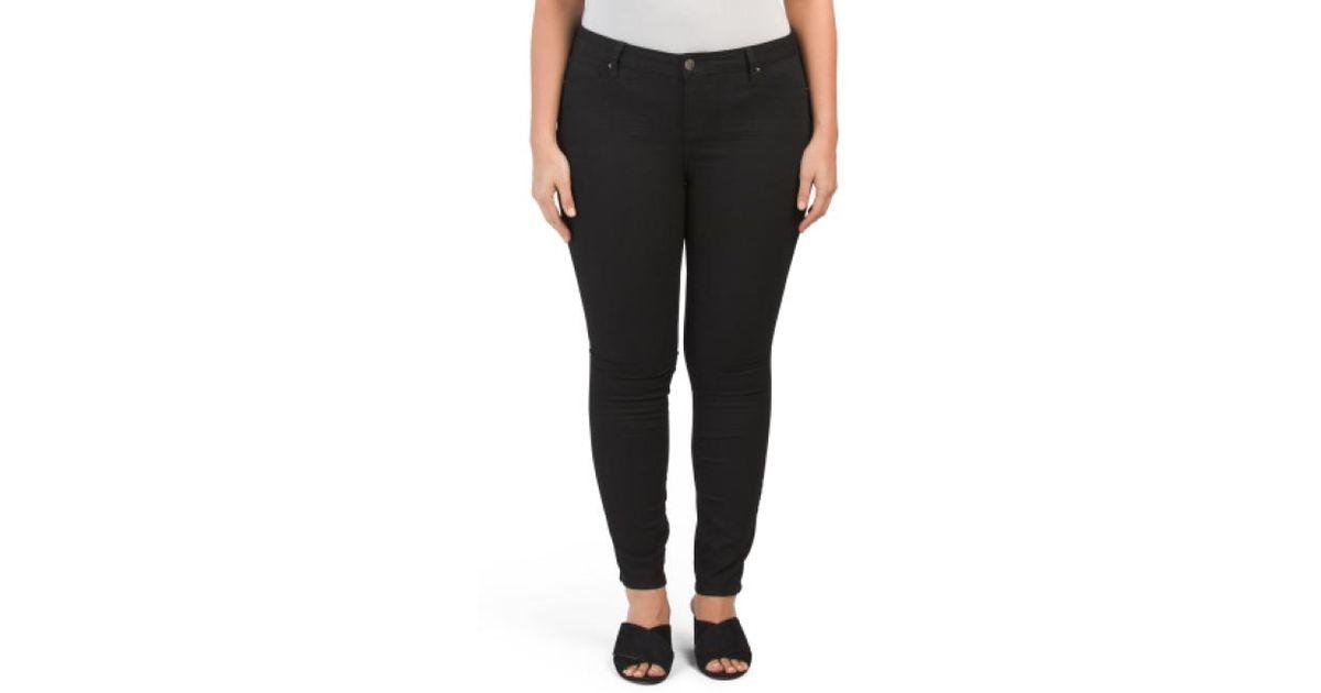 651357a491108 Lyst - Tj Maxx Plus Size Skinny Jeans in Black