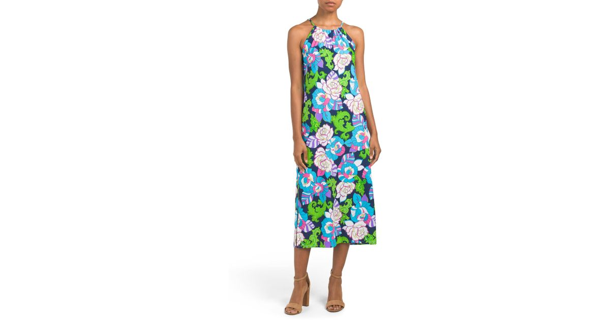 07f9bbd5db57 Tj Maxx Made In Usa Anya Tunic Dress in Blue - Lyst