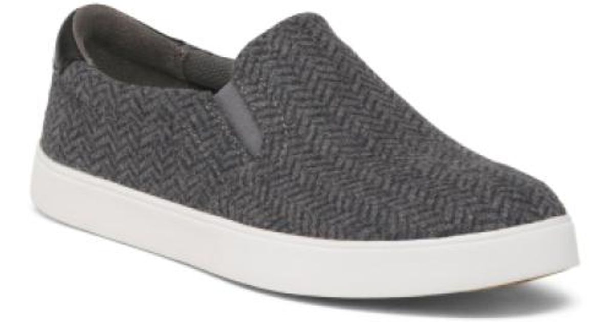 d0ddb7390c5 Tj Maxx - Gray Herringbone Twin Gore Slip On Shoes for Men - Lyst