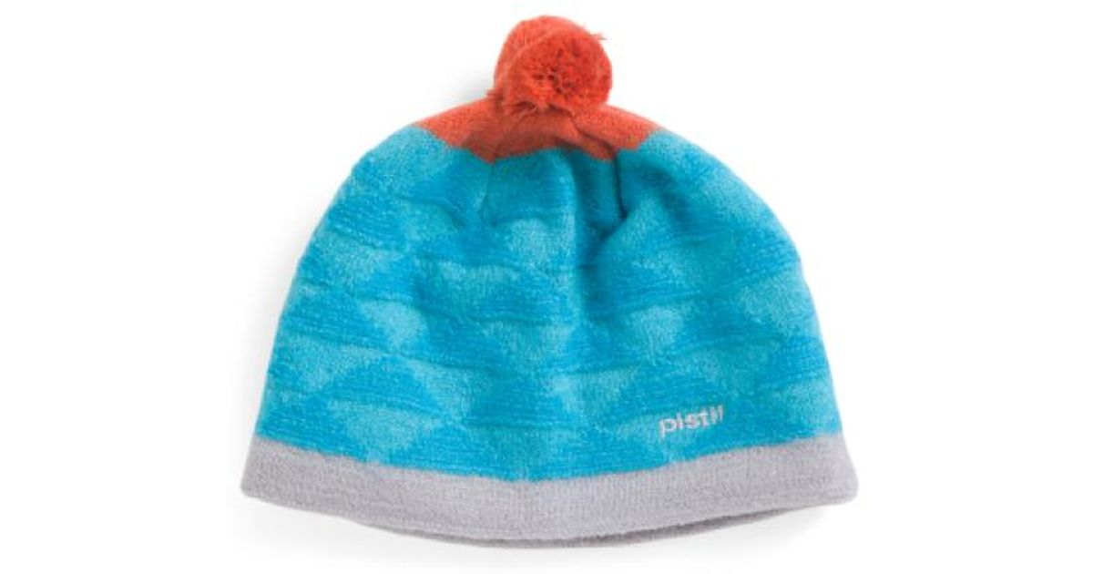 Lyst - Tj Maxx Made In Italy Heather Boiled Wool Beanie in Blue 24d0ae53d81