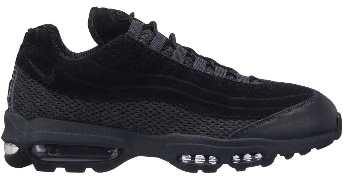 Nike Air Max 95 Ultra Premium Breathe in Black for Men - Lyst