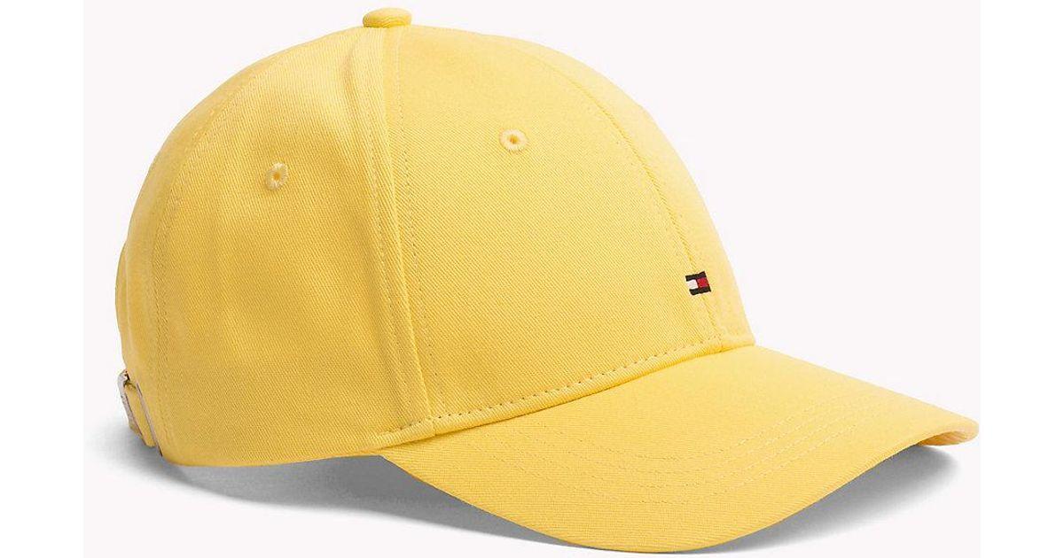 Tommy Hilfiger Classic Baseball Cap in Yellow - Lyst b394ec2f413
