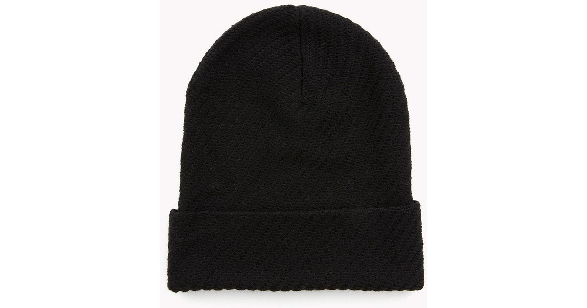 6c58f9710ce Tommy Hilfiger Lewis Hamilton Slouchy Beanie in Black for Men - Lyst