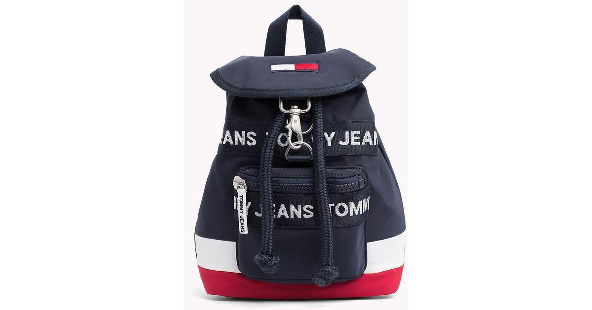 bf9bdf3d Tommy Hilfiger Heritage Mini Backpack in Blue - Lyst