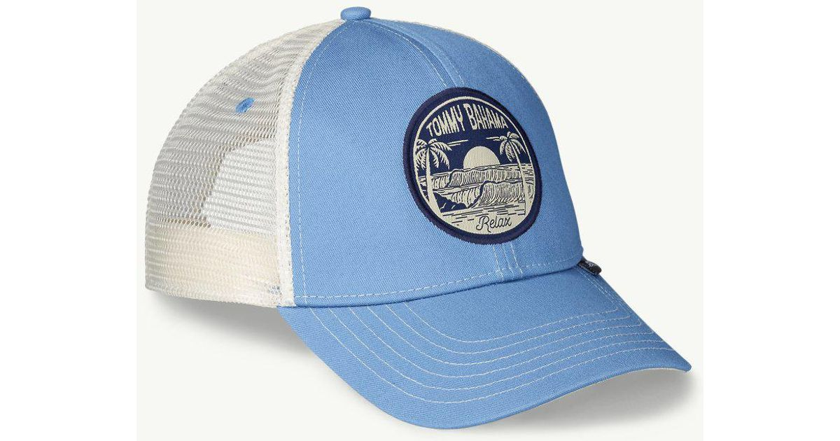 a8d32bf6e76 Lyst - Tommy Bahama Surf Circle Trucker Cap for Men