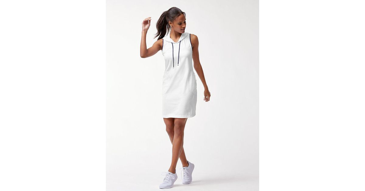 b9e8b17098 Lyst - Tommy Bahama Islandactive® Hooded Swim Dress in White