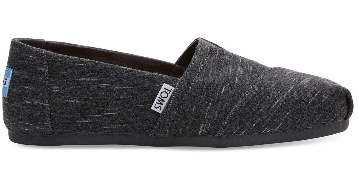 TOMS Forged Iron Heathered Jersey Slip-On Shoe 3U85kLW7RP