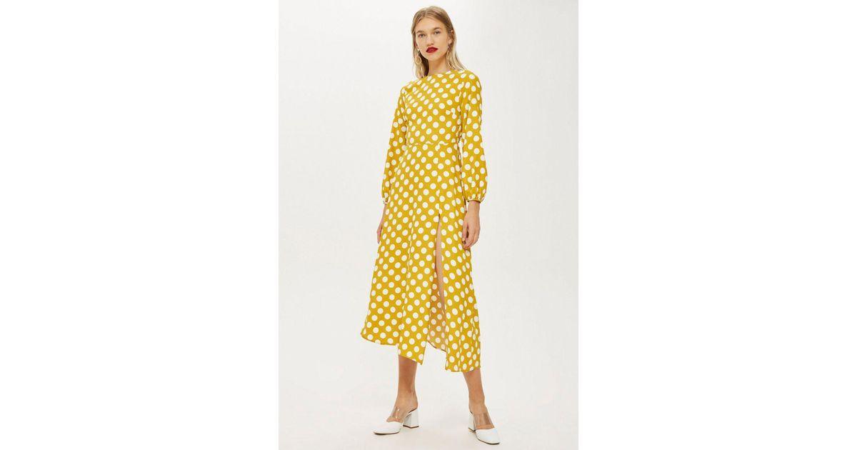 Yellow Polka Dot Dress