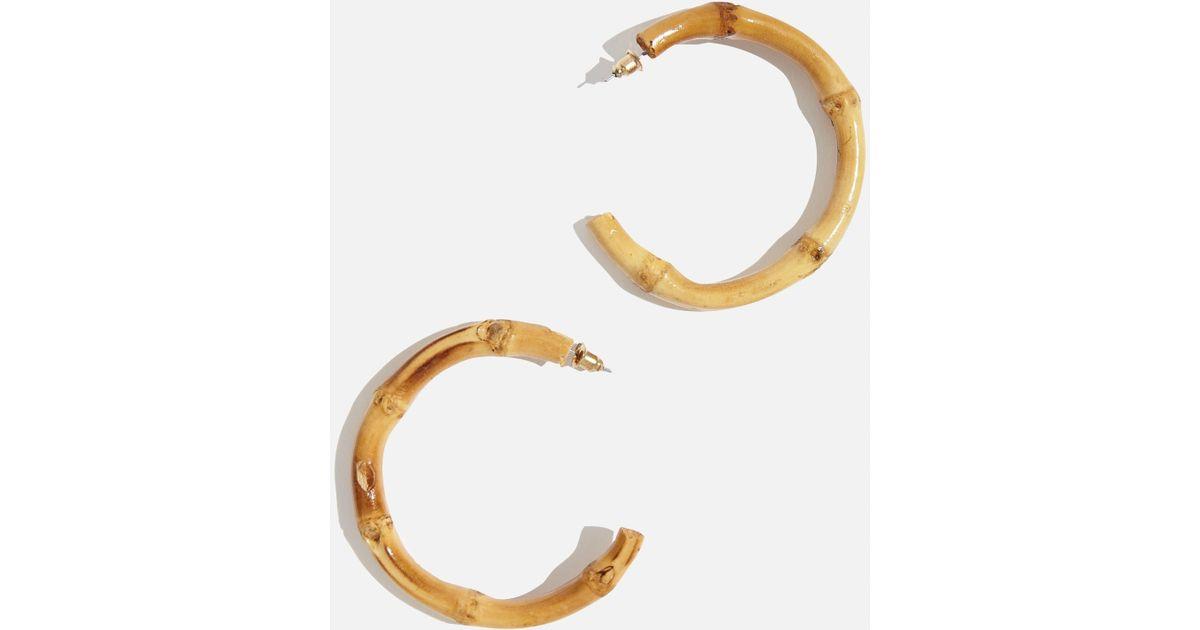 c7a9d4132600a Skinnydip London - Metallic Bamboo Hoop Earrings By Skinnydip - Lyst