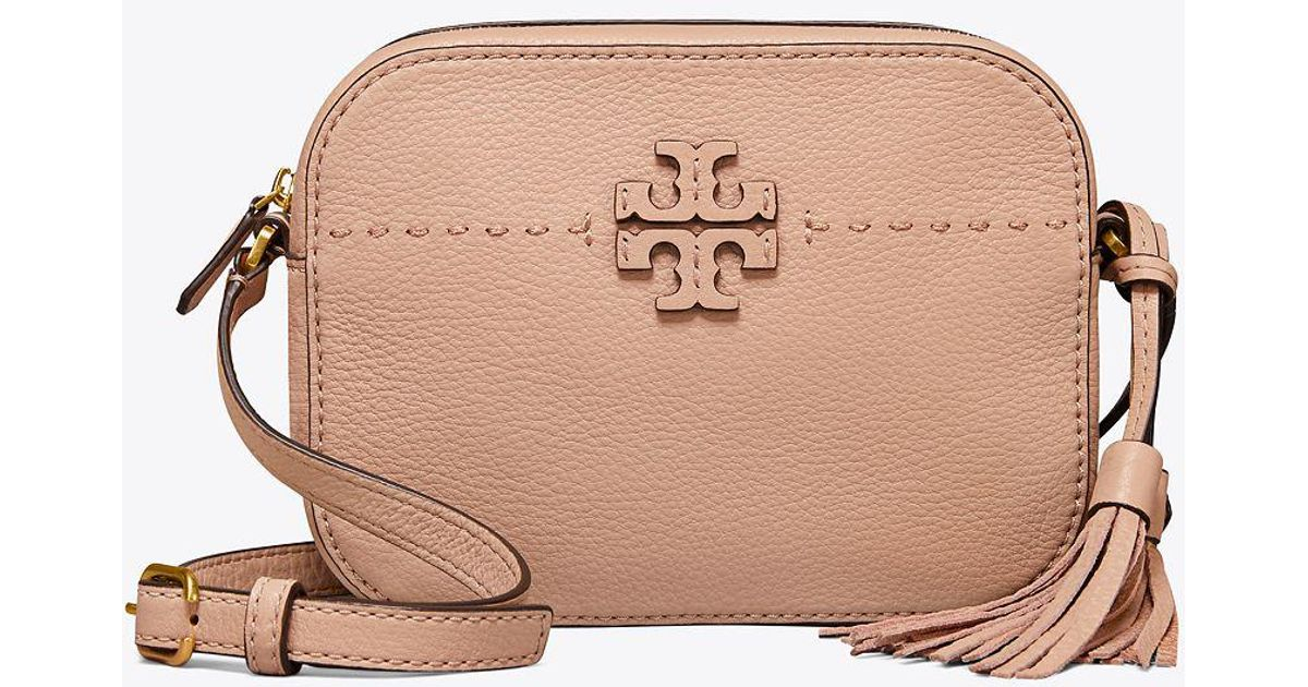 05d3308f39bc Lyst - Tory Burch Mcgraw Camera Bag - Save 21%