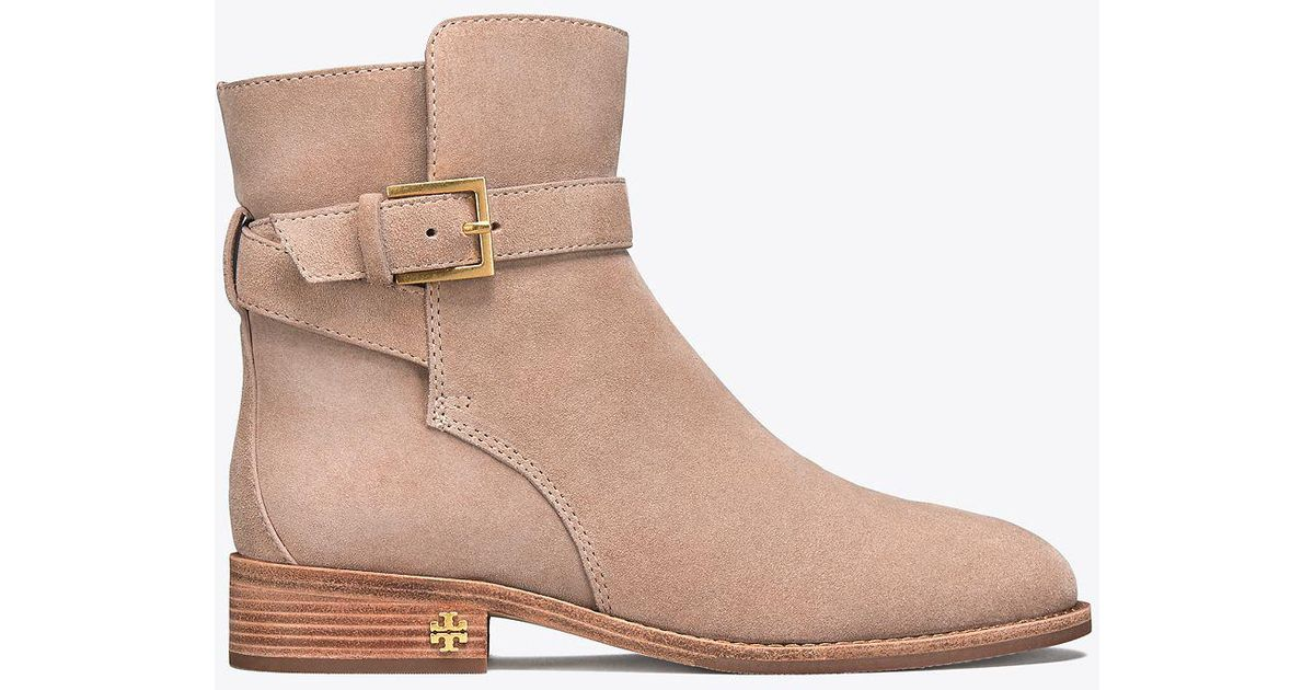 7d98b601b Lyst - Tory Burch Brooke Ankle Bootie in Natural