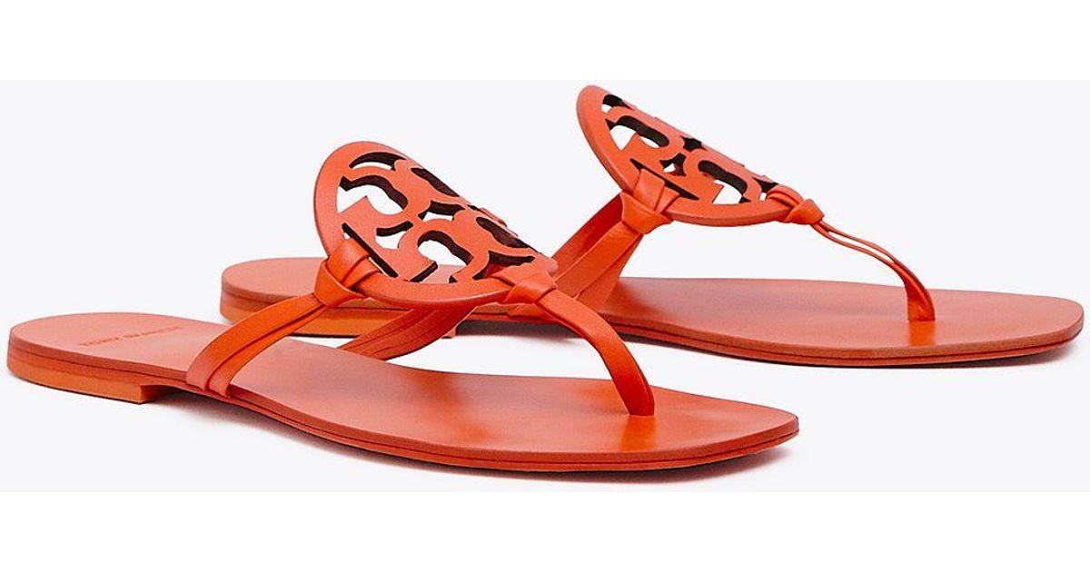 cf3d6e76b20b Lyst - Tory Burch Miller Square-toe Sandals