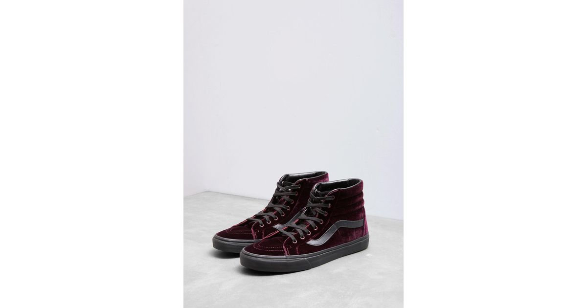 b02dd2ee5b Lyst - Vans Velvet Sk8-hi Reissue Sneakers for Men