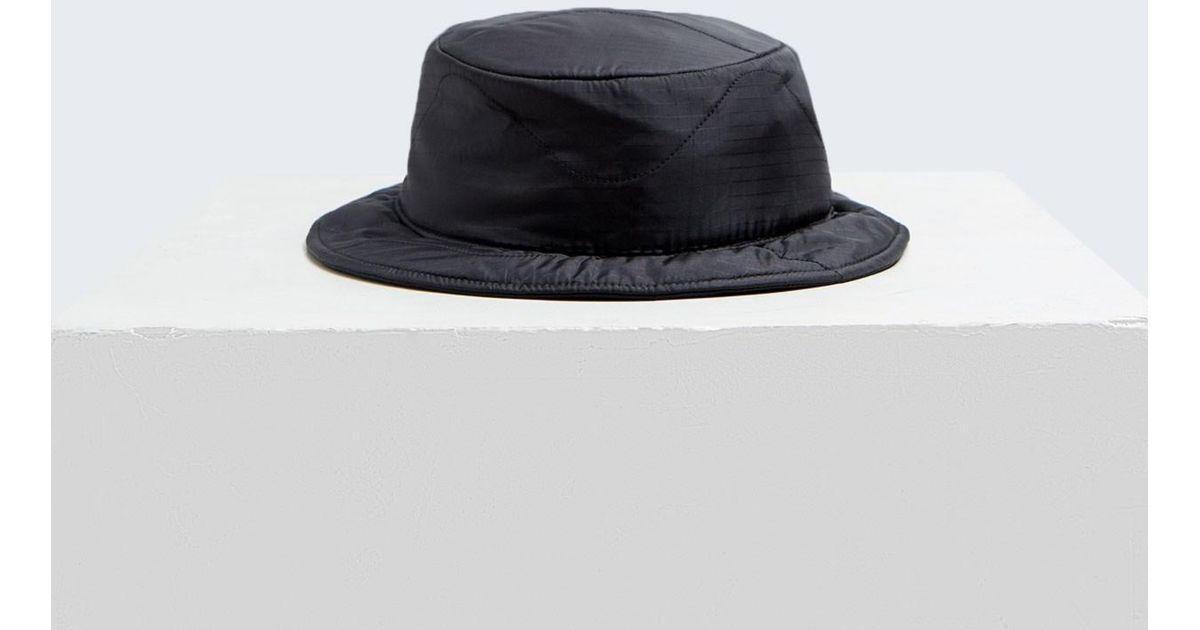 94e1c33f Clyde Puff Bucket Hat in Black - Lyst
