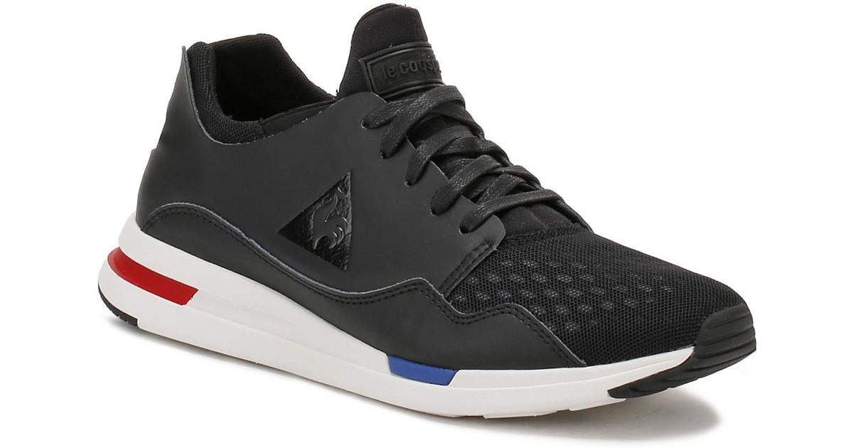 Marshmallow Le Coq Sportif Mens Shoes Footwear Trainers R Pure Leather Mesh