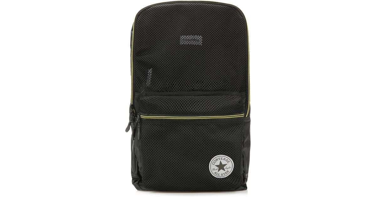 25c96dc39dc6 Lyst - Converse Black Packable Backpack in Black for Men