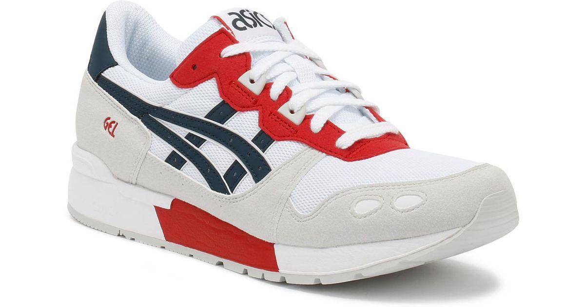 asics mens white trainers