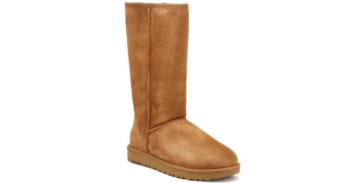 f0189da131f29 Lyst - UGG Ugg Womens Chestnut Brown Classic Tall Ii Boots in Brown