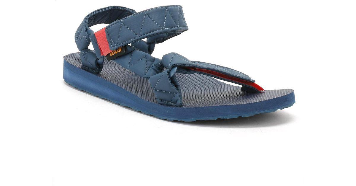 59e278f09 Lyst - Teva Mens Deep Sea Blue Original Universal Puff Sandals in Blue for  Men