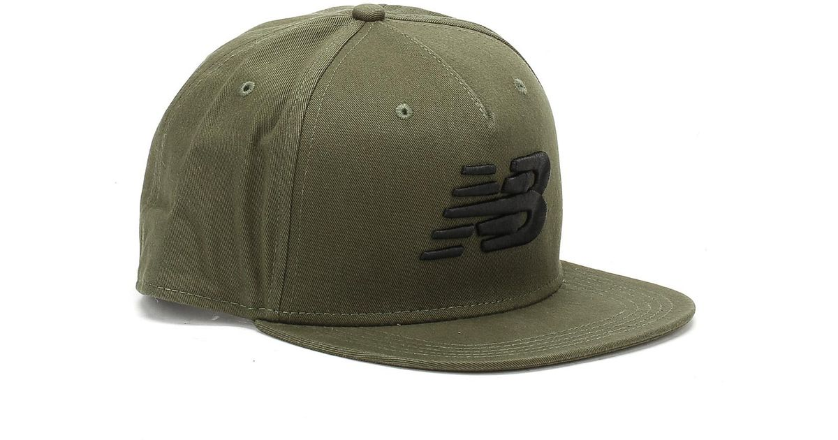 f46e02d7d3c Lyst - New Balance Dark Covent Green 5 Panel Cap in Green for Men - Save  11.111111111111114%
