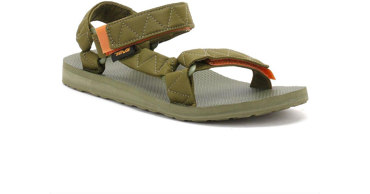 b1516180e Lyst - Teva Mens Green Winter Moss Original Universal Puff Sandals in Green  for Men