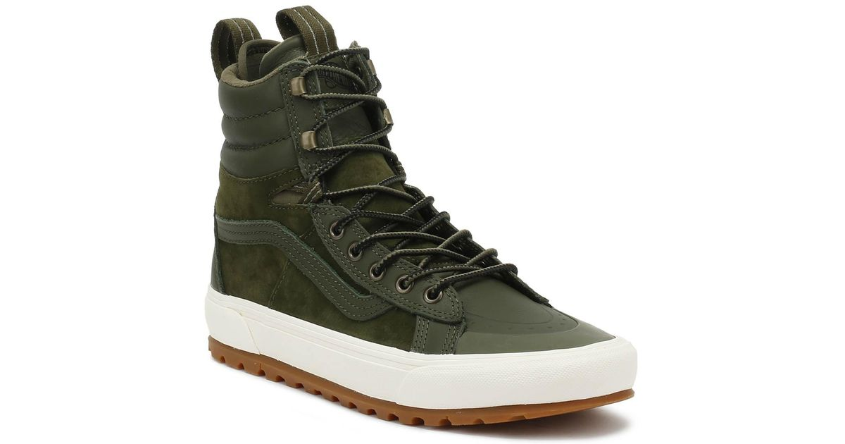 6e30954a2b0780 Vans Sk8-hi Mte Dx Grape Leaf Green Boots in Green for Men - Save 47% - Lyst