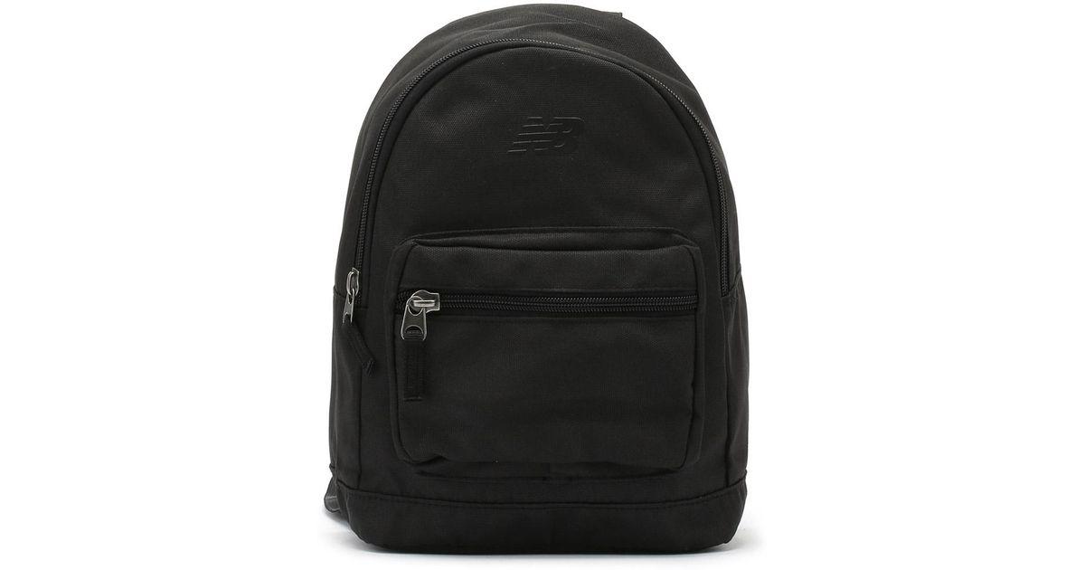 a84e1f85ed75 Lyst - New Balance Black Mini Classic Backpack in Black for Men