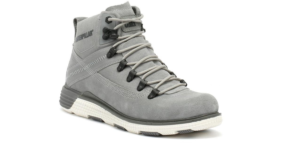 Caterpillar Chase20 Mens Grey Boots in Gray for Men - Lyst 2291a0c0b
