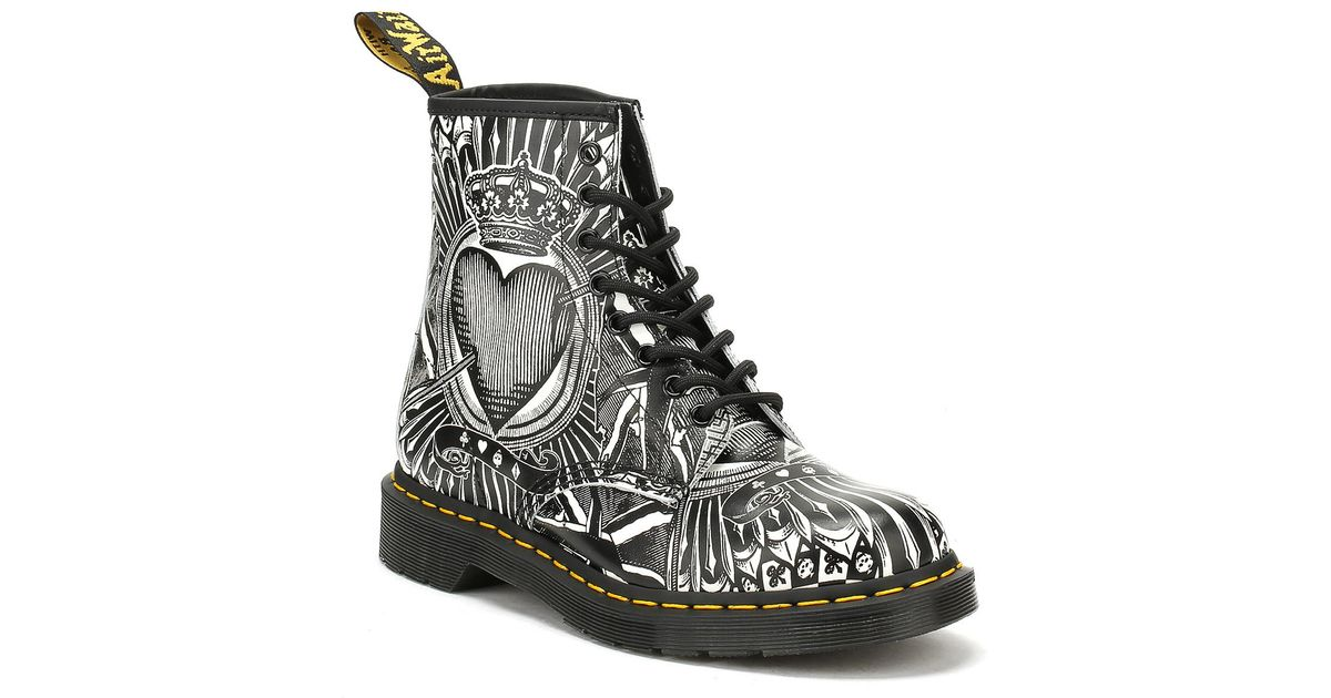 Dr. Martens 1460 Playing Card Backhand Boots