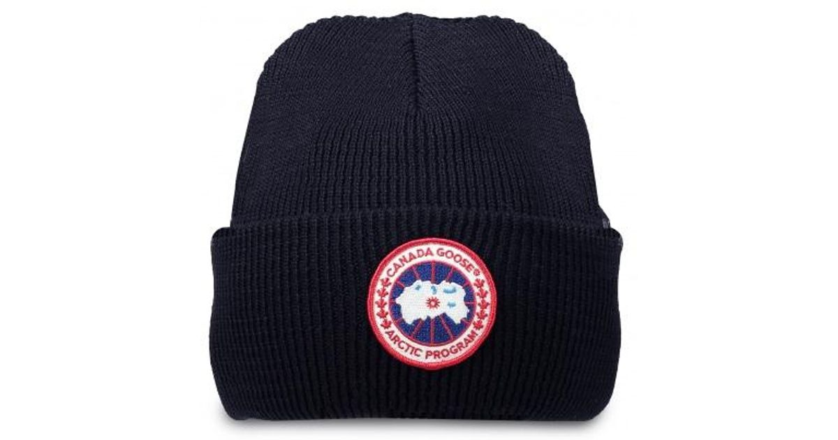 f12f5b4f9bf Lyst - Canada Goose Arctic Disc Toque Hat in Blue for Men