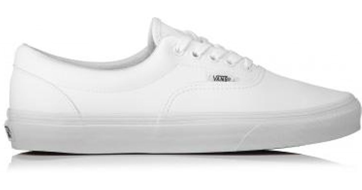 Vans Era Classic Tumble in White for Men - Lyst bf306f4a5