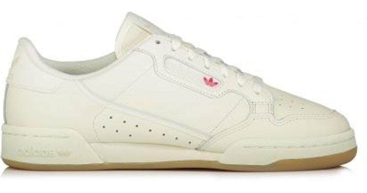 5b82653066b36e adidas Originals Continental 80 in White for Men - Lyst