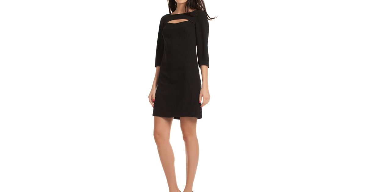 a1344f3cf5e6 Lyst - Trina Turk Marlowe Dress in Black