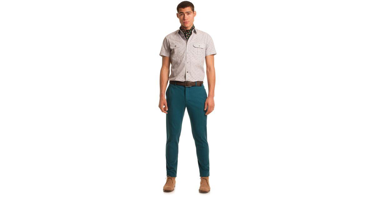 3a76c95223e Mr Turk - Multicolor Clyde Slim Trouser for Men - Lyst