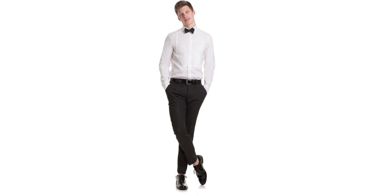 cd8ddbdcfc2 Mr Turk - Black Clyde Slim Trouser for Men - Lyst