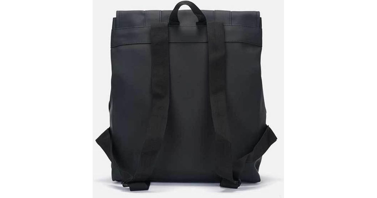 a029cefcc Rains Black Messenger Bag in Black for Men - Lyst