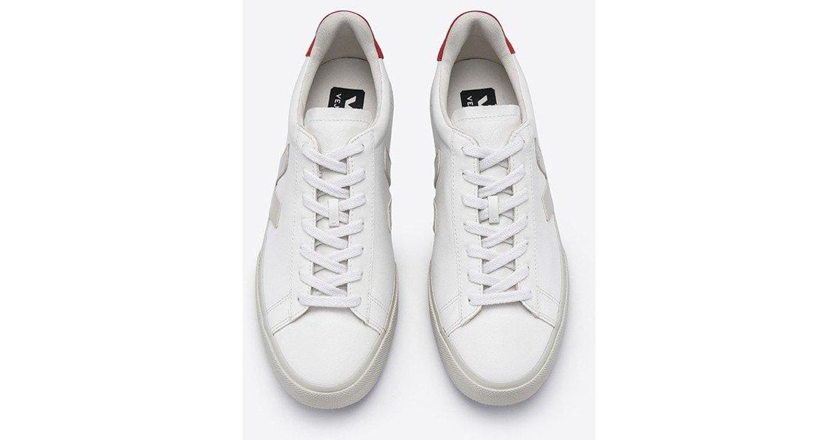 Veja Campo White Trainers, Pierre Pekin Vegan Sneakers for men