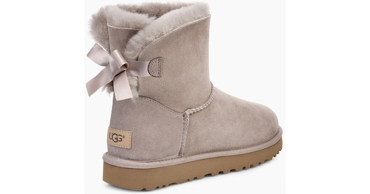 18d840d984366 Lyst - UGG Women s Mini Bailey Bow Ii Boot