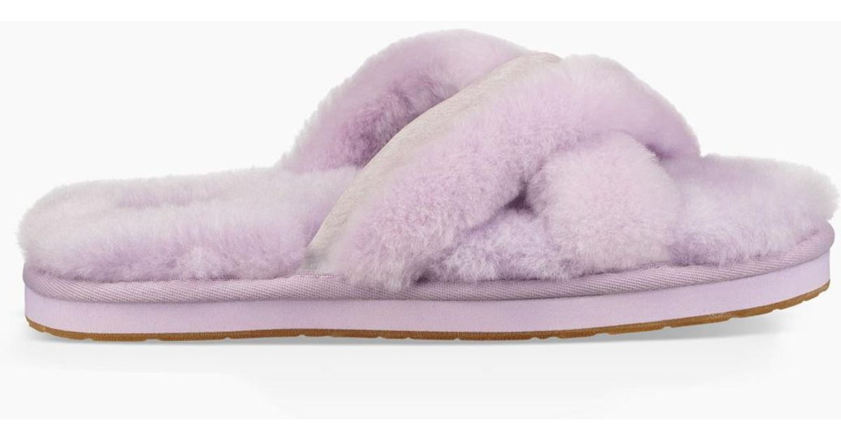810f614250f Ugg - Purple Women's Abela Slipper - Lyst