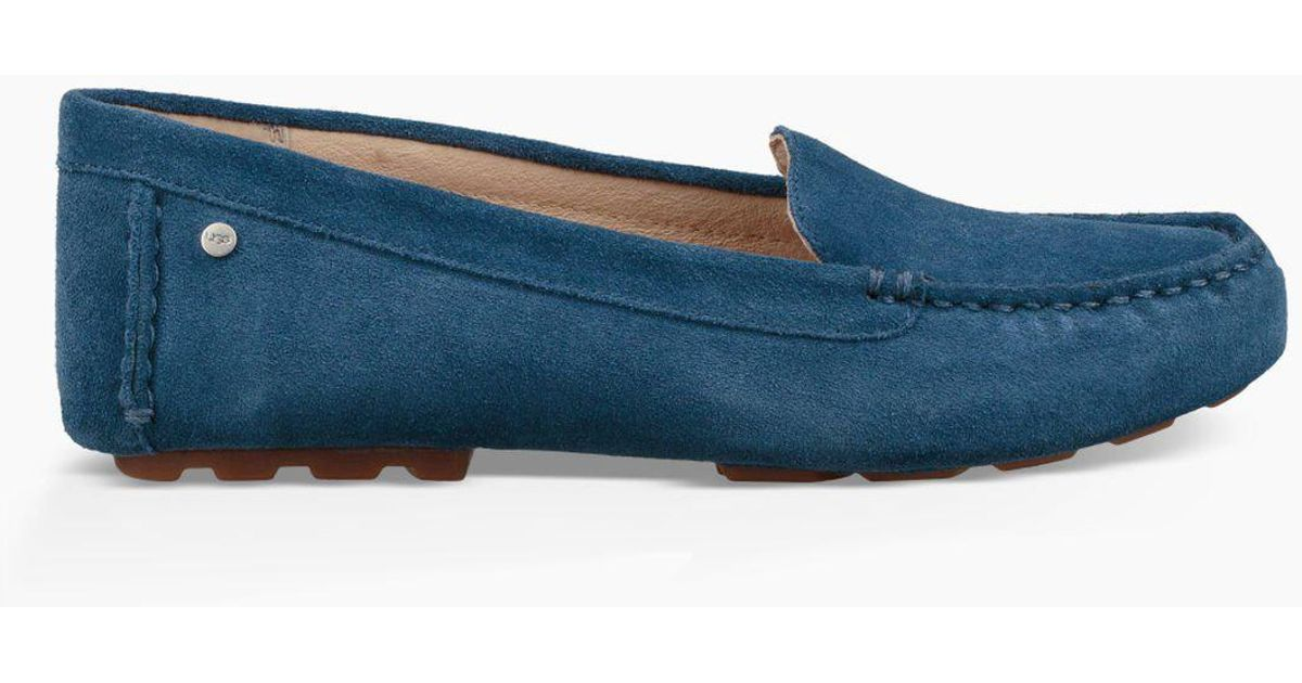 4d47f2f35d2 Lyst - UGG Milana Loafer Flat in Blue